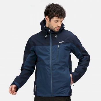 Men's Birchdale Waterproof Jacket Moonlight Denim Navy