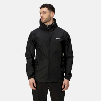 Men's Pack-It III Lightweight Waterproof Walking Jacket Black