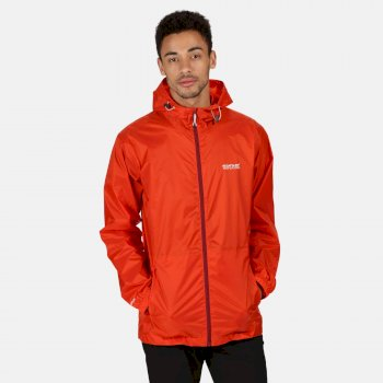 Men's Pack-It III Lightweight Waterproof Walking Jacket Burnt Salmon