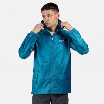 Men's Pack-It III Lightweight Waterproof Walking Jacket Olympic Teal