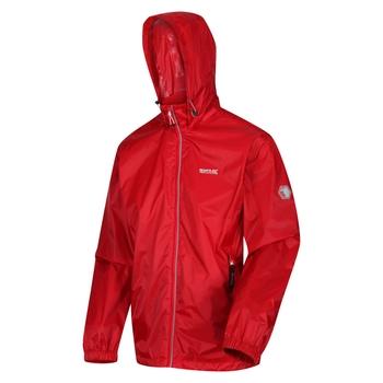Men's Lyle IV Waterproof Packaway Jacket Chinese Red