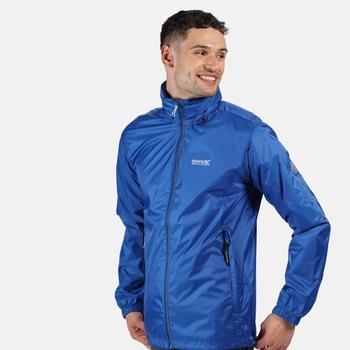 Men's Lyle IV Waterproof Packaway Jacket Nautical Blue