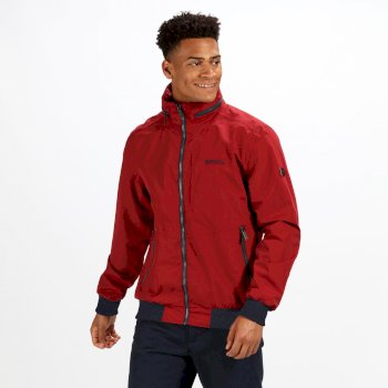 Lightweight Waterproof Jacket Red