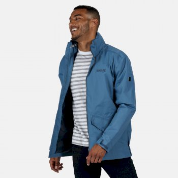 Men's Hartigan Lightweight Waterproof Jacket with Concealed Hood Stellar