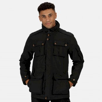 Men's Elmore Waterproof Cargo Jacket Black