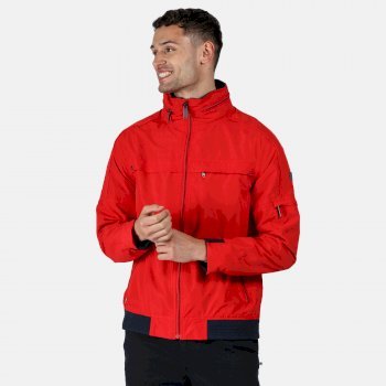Men's Montel Waterproof Bomber Jacket True Red