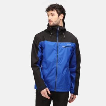 Men's Highton Waterproof Jacket Surf Spray Black