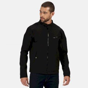 Men's Haakon Waterproof Shell Jacket Black