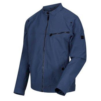 Men's Haakon Waterproof Shell Jacket Dark Denim
