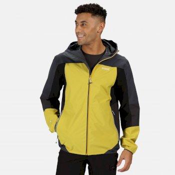 Męska kurtka przeciwdeszczowa Imber VI zółta