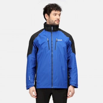Men's Calderdale IV Waterproof Jacket Surf Spray Black