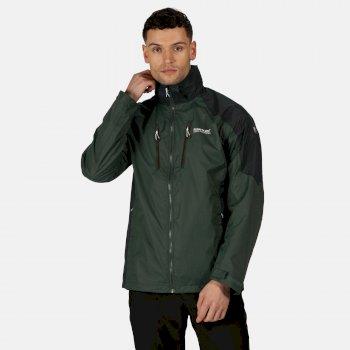 Męska kurtka przeciwdeszczowa Calderdale IV zielona