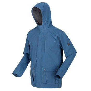Men's Bazyl II Waterproof Hooded Shell Jacket Stellar
