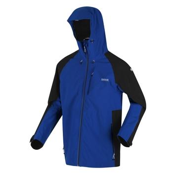 Męska kurtka przeciwdeszczowa Britedale niebieska