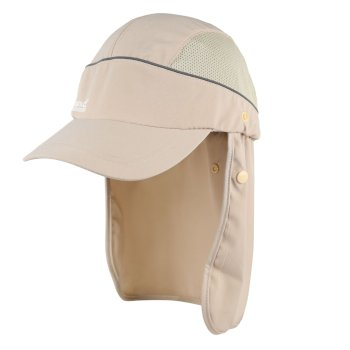 Men's Protector II Neck Protector Cap  Cream