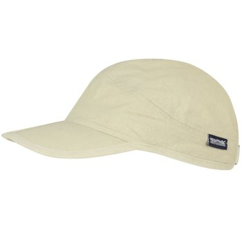 Men's Folding Peak Cap Warm Beige