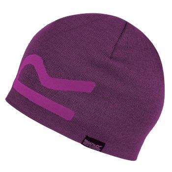 Brevis Acrylic Knit Beanie Winberry