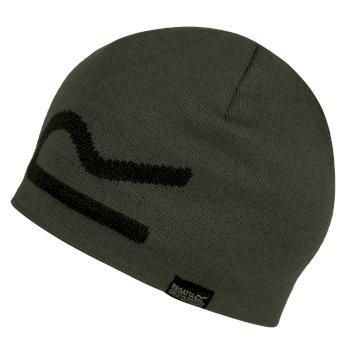 Brevis Acrylic Knit Beanie Dark Khaki