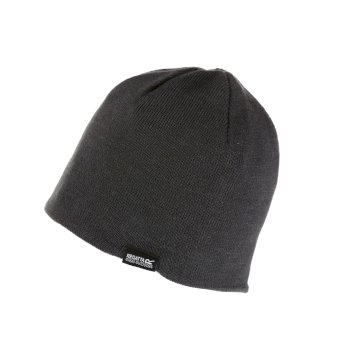 Adult's Brevis II Knit Beanie Seal Grey
