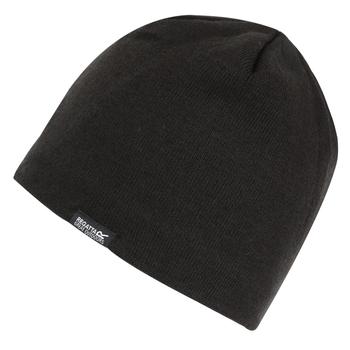 Adult's Brevis II Knit Beanie Black