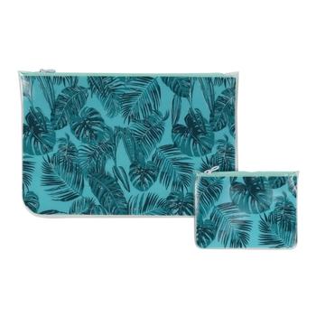 Swim Wet Bag Set Ice Green Palm