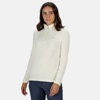 Women's Sweethart Lightweight Half-Zip Fleece Polar Bear Parchment