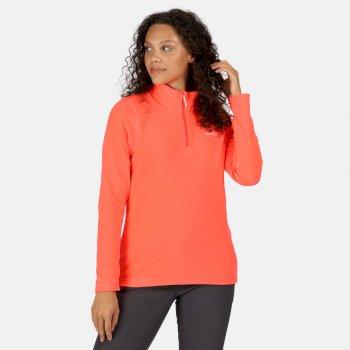 Women's Sweethart Lightweight Half-Zip Fleece Fiery Coral