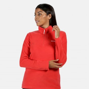 Women's Sweethart Lightweight Half-Zip Fleece Red Sky
