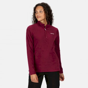 Women's Sweethart Lightweight Half-Zip Fleece Purple Potion