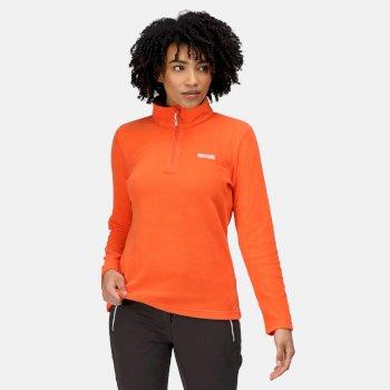 Women's Sweethart Lightweight Half-Zip Fleece Tigerlilly Orange
