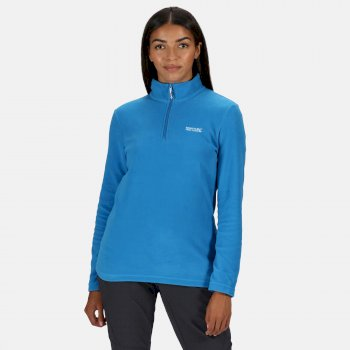 Women's Sweethart Lightweight Half-Zip Fleece Blue Aster