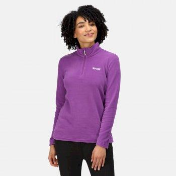Women's Sweethart Lightweight Half-Zip Fleece Purple Sapphire