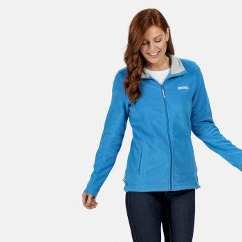 Women's Clemance II Full-Zip Fleece Blue Aster