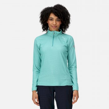 Women's Montes Lightweight Half-Zip Fleece Turquoise