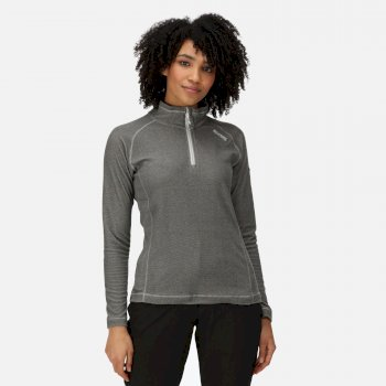 Women's Montes Lightweight Half-Zip Fleece Dark Light Steel