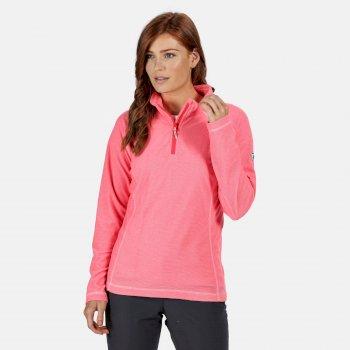 Women's Montes Lightweight Half-Zip Fleece Neon Pink
