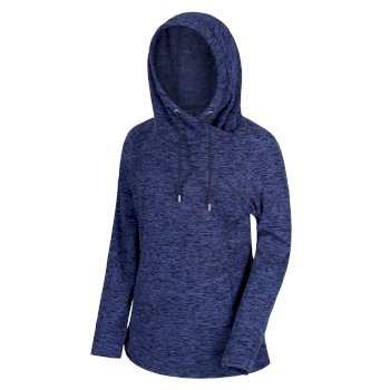 Women's Kizmit II Hooded Marl Fleece Navy