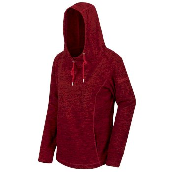 Women's Kizmit II Hooded Marl Fleece Delhi Red