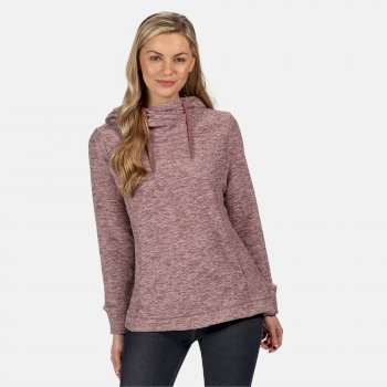 Women's Kizmit II Hooded Marl Fleece Dusky Heather