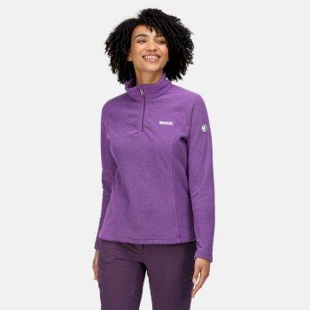 Women's Kenger Half Zip Fleece Purple Sapphire