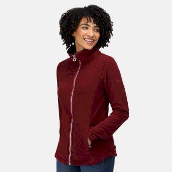Women's Fayona Full Zip Fleece Claret