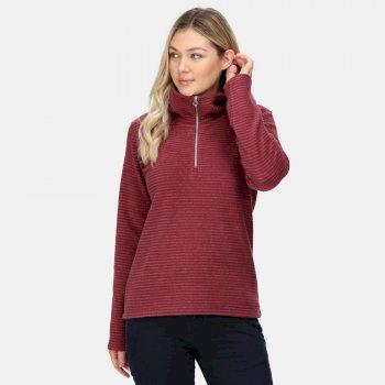 Women's Solenne Half Zip Fleece Claret