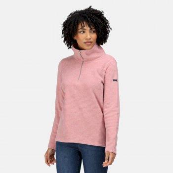 Women's Solenne Half Zip Fleece Dusty Rose