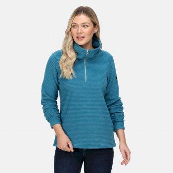 Women's Solenne Half Zip Fleece Gulfstream