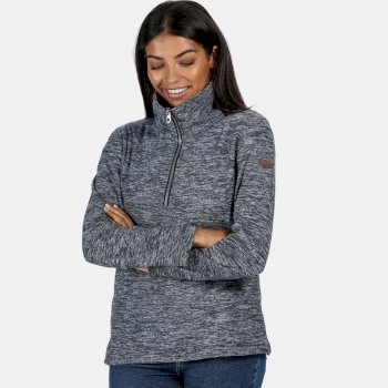 Women's Fidelia Lightweight Half-Zip Fleece Navy Marl