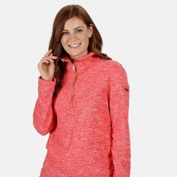 Women's Fidelia Lightweight Half-Zip Fleece Red Sky