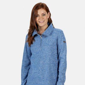 Women's Fidelia Lightweight Half-Zip Fleece Strong Blue