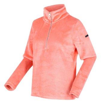 Women's Fidelia Lightweight Half-Zip Fleece Fusion Coral