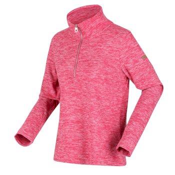 Women's Fidelia Lightweight Half-Zip Fleece Virtual Pink Marl