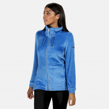 Women's Odelia Full Zip Heavyweight Fleece Strong Blue